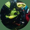 kursy nurkowania Wrocław, nurkowanie w suchym skafandrze
