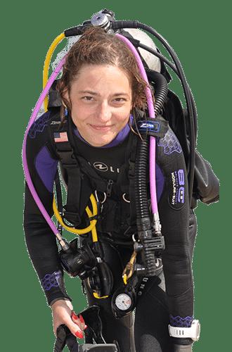 Patrycja Mielimąka Master Scuba Diver Trainer PADI