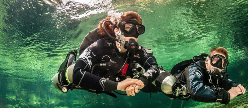 kurs nurkowania sidemount