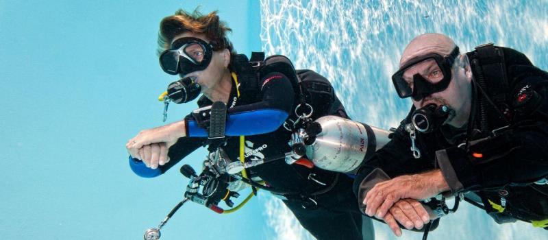 kurs nurkowania PADI Tec40