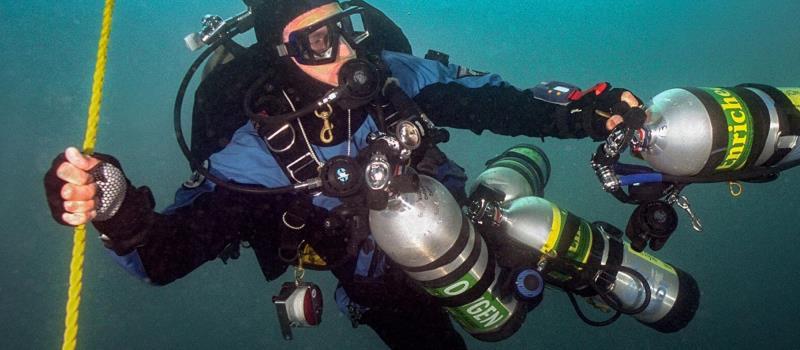 kurs nurkowania PADI Tec Deep