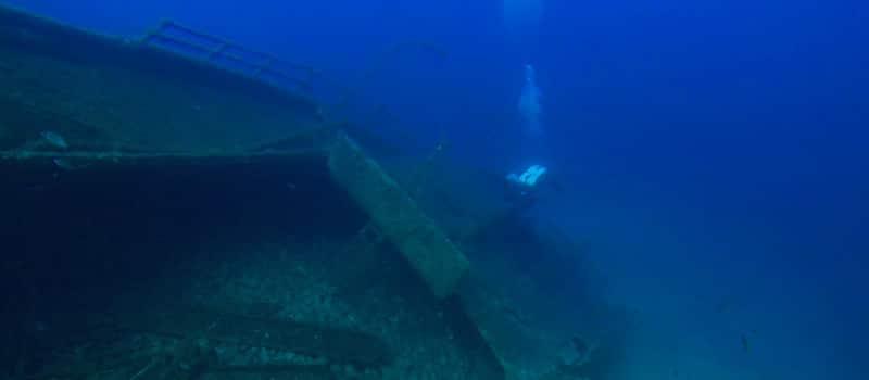 PADI TecRec Aquanaut Diving