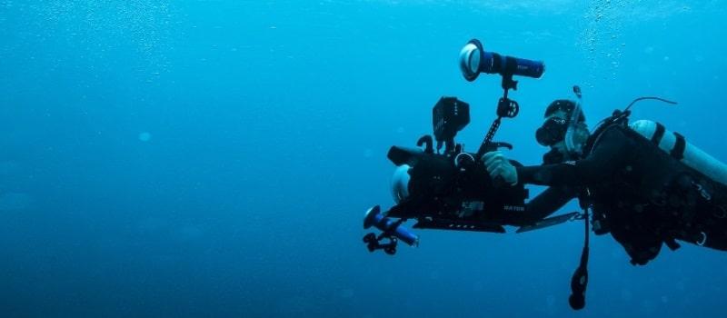 filmowanie podwodne